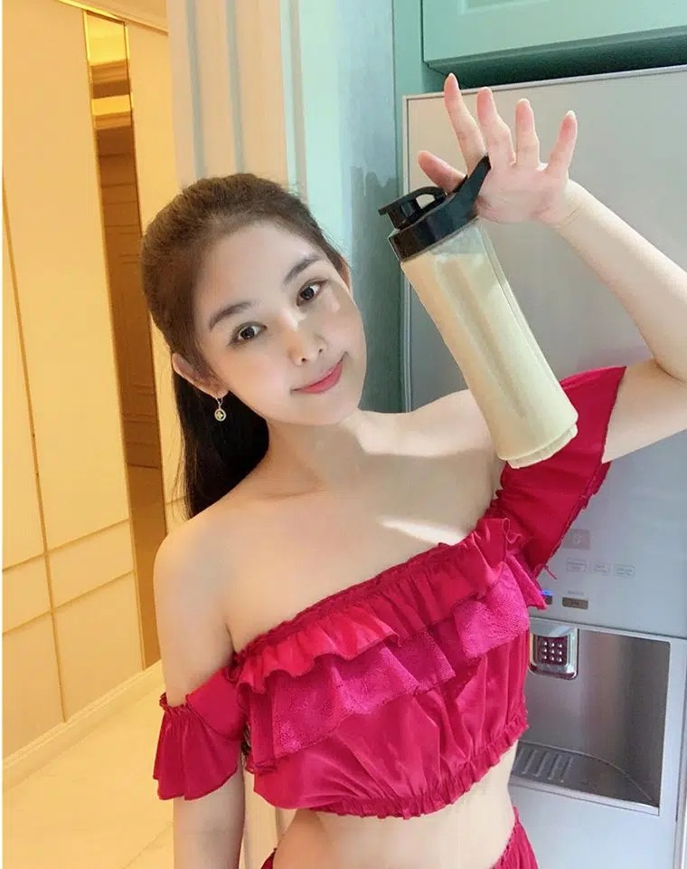 Le Au Ngan Anh was promoted to beauty after 4 years of being caught up in the market