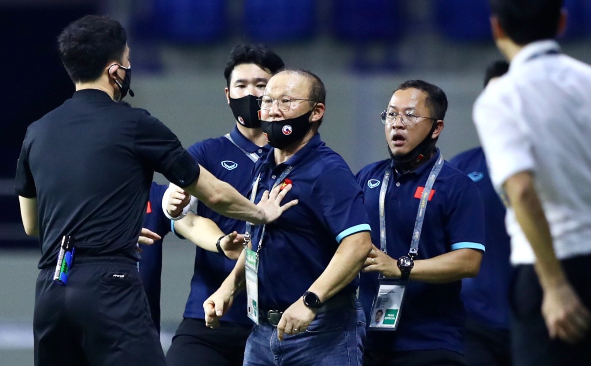 Revealing the replacement of Coach Park Hang-seo, commanding the great battle between Vietnam and UAE 2