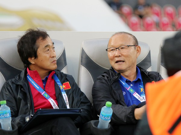 Revealing the replacement of Coach Park Hang-seo, commanding the great battle between Vietnam and UAE 3