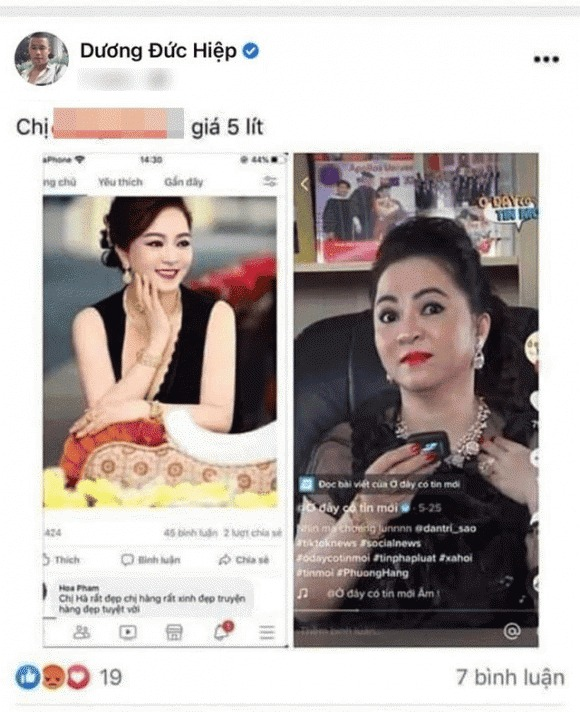Hiep chicken revealed that life became troublesome after the act of 'following' teacher Duc Hai 3