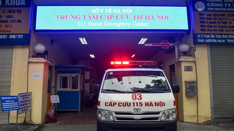 Functions and duties of 115 Hanoi 3 Emergency Center