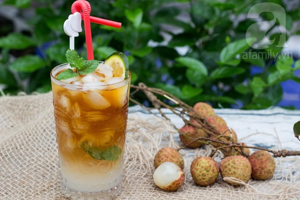 The easiest way to make lychee tea, both delicious and thirsty in summer