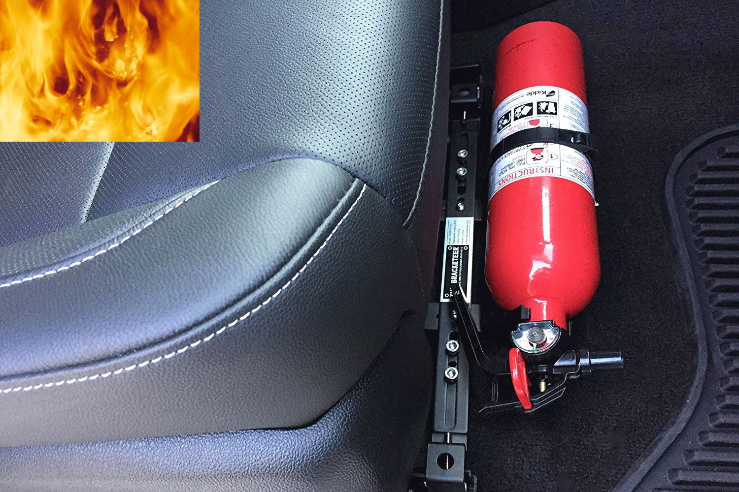 'Box driver' catches fire when traveling in the sun like a fire: Warning for explosive items 3