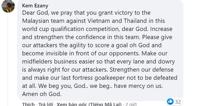 Malaysian fans are optimistic before the match: 'Vietnam is not that strong, 2-0 for Malaysia' 3