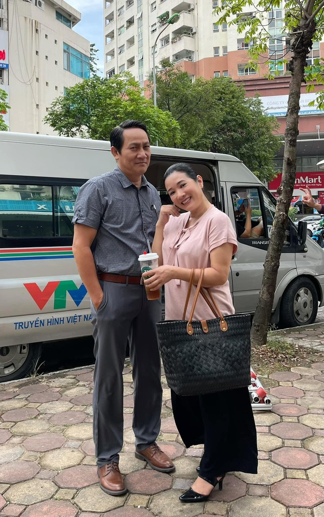 Thanh Thanh Hien first appeared in a TV series after the marriage incident 2