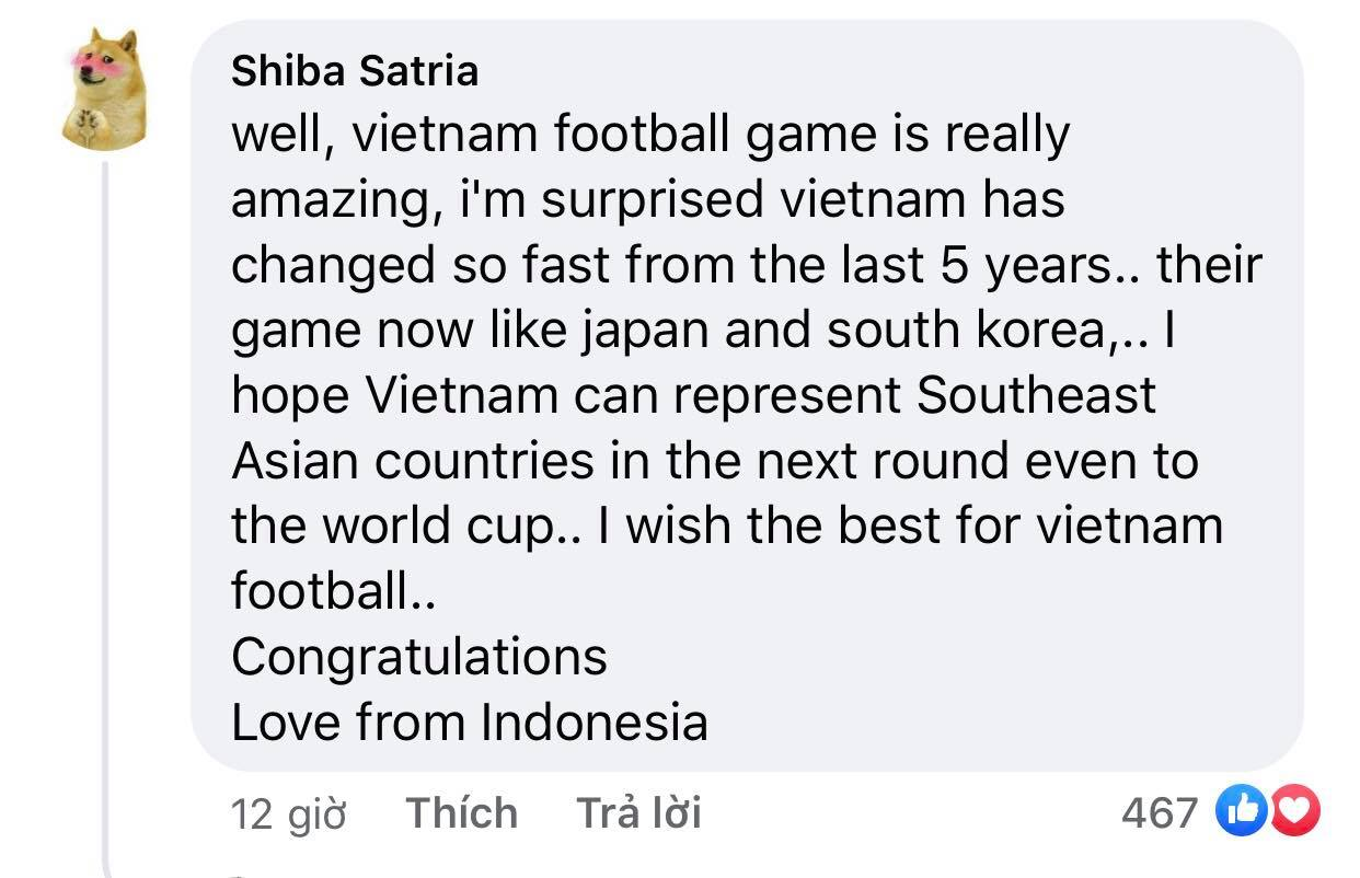 Vietnam's victory makes Indonesian fans admire and respect 3