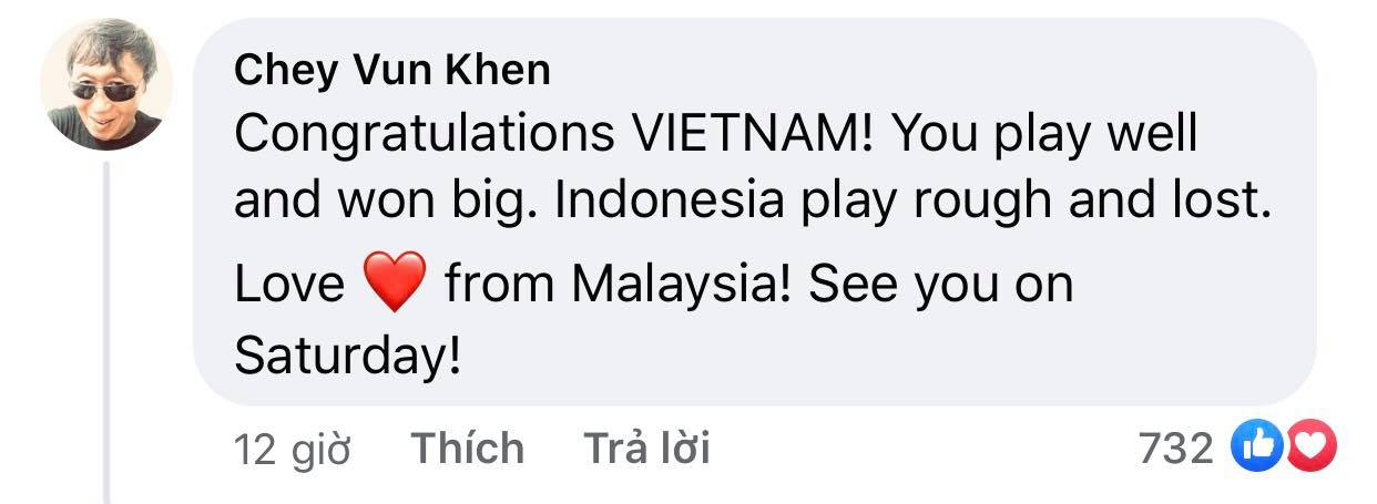 Vietnam's victory makes Indonesian fans admire and respect 5