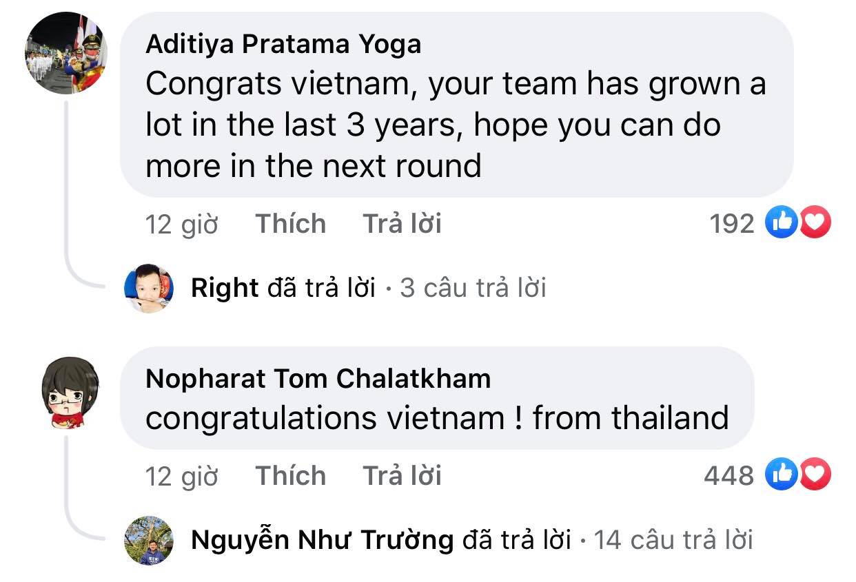 Vietnam's victory makes Indonesian fans admire and respect 7