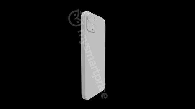 The render reveals the biggest design change on the iPhone 13 will be on the 4 . back