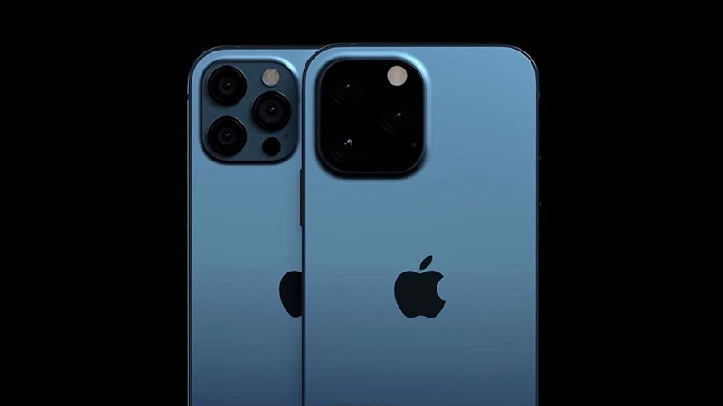 The render reveals the biggest design change on the iPhone 13 will be on the 5 back