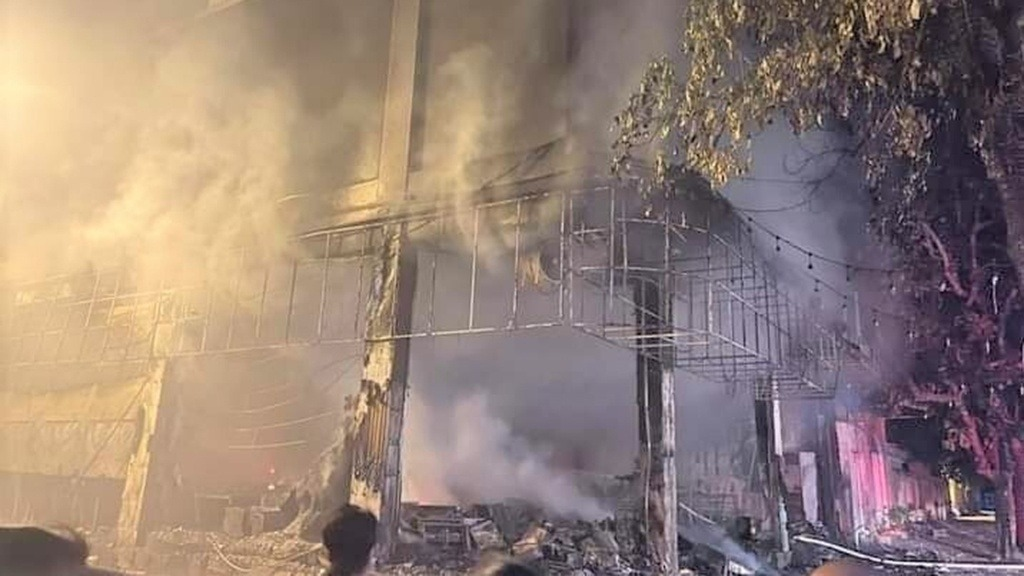 Identity of 6 victims in Nghe An 3 tea room fire