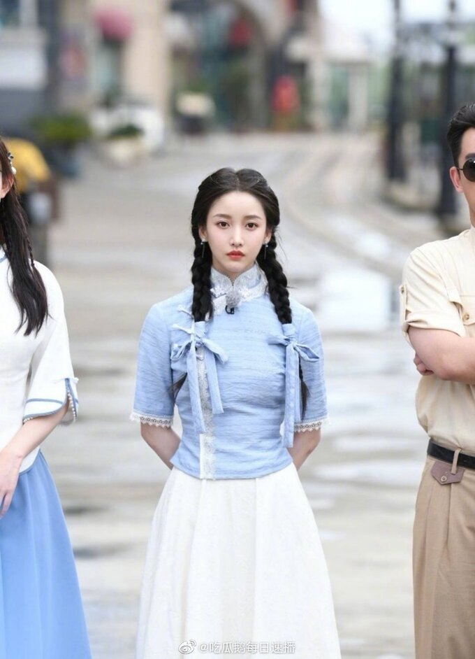 Chinese beauties compete in ancient shaping in 'Running Man': Angelababy is excellent, Menh Tu Nghia is completely inferior