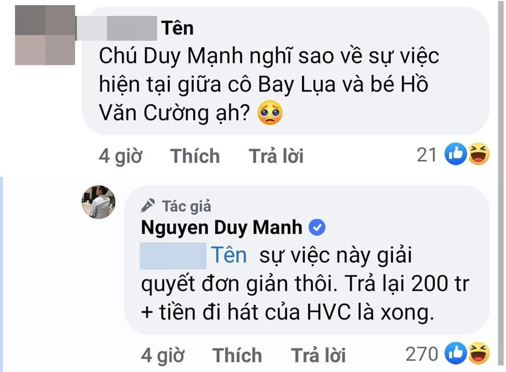 Duy Manh continued the series 'Swivel Question, Rotate Answer' with CDM when he encountered questions related to Phi Nhung 3