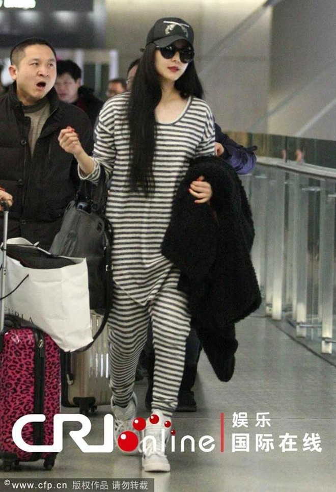 Cbiz's airport fashion colors: From bad 'fog' to bad words can't describe 4