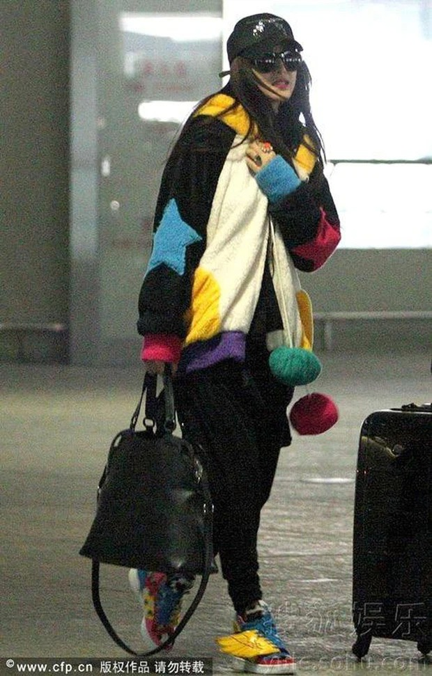 Cbiz's airport fashion colors: From bad 'fog' to bad words can't describe 5