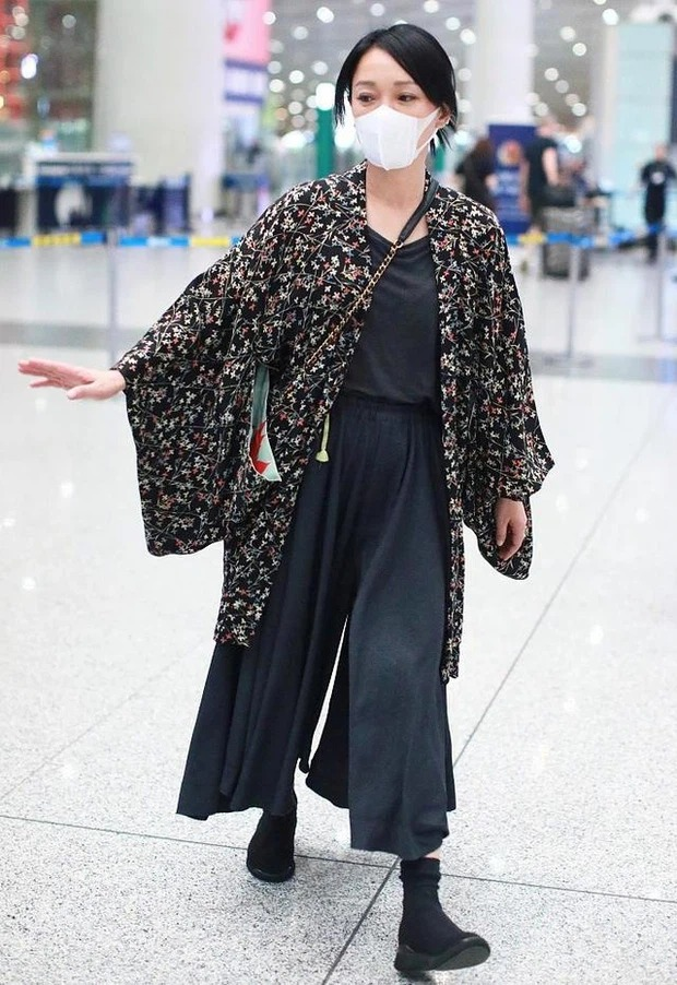 Colorful airport fashion of Cbiz stars: From bad 'fog' to bad words can't describe 9