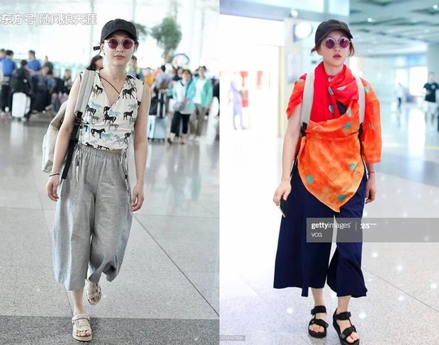 Cbiz's airport fashion colors: From bad 'fog' to bad words can't describe 10