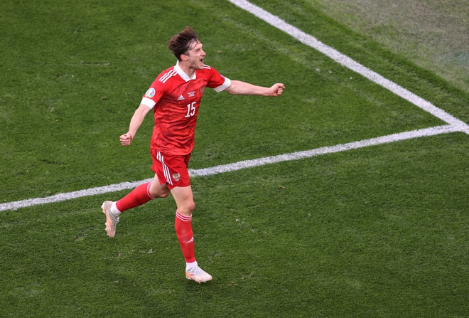 Finland - Russia football results: Miranchuk made a super product to help Russian 'bear' get the first 3 points
