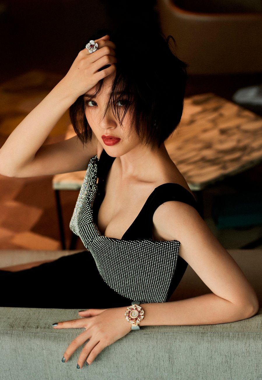 China's First Hound - Zhuo Wei revealed the list of the most 'clean' female artists in Cbiz 8