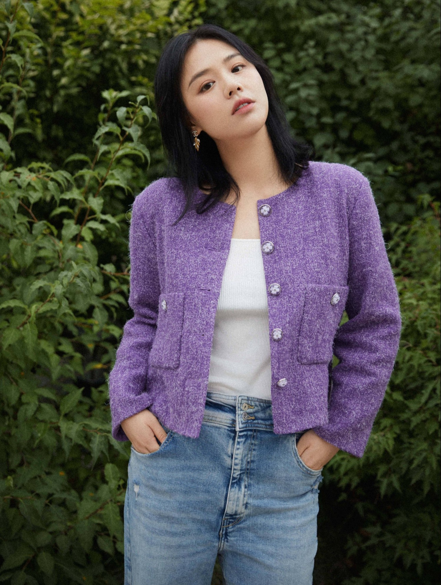 China's First Hound - Zhuo Wei revealed the list of the most 'clean' female artists Cbiz 6