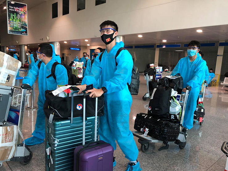3 Indonesian players infected with Covid-19, the Vietnamese team returned to quarantine for 7 days in Ho Chi Minh City 3