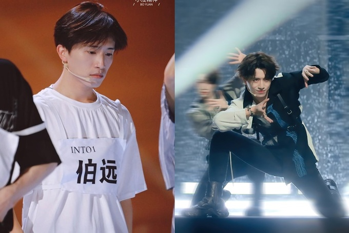 Visuals of INTO1 male gods before and after makeup 3 makeup