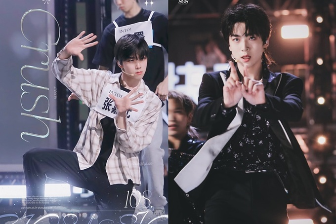 Visuals of INTO1 male gods before and after makeup 10 makeup