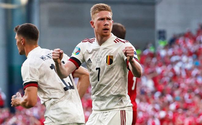 Denmark - Belgium football results, Group B EURO 2020: Kevin De Bruyne shines, making the whole world admire