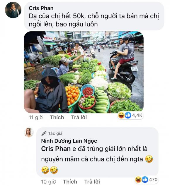 Ninh Duong Lan Ngoc received unpredictable consequences when she was