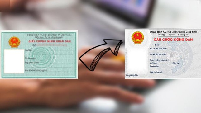 6 cases of fines if you do not change from ID card to CCCD card with chip 1
