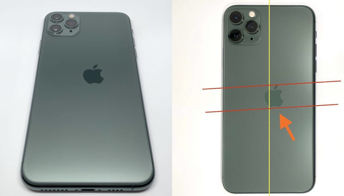 60 million dong for a unique 'deformed' iPhone 11 Pro 2