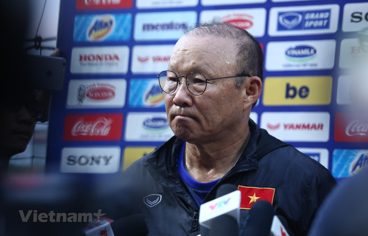 Coach Park Hang-seo talked about the contract with VFF, emphasizing on the beginning of next year 1 năm