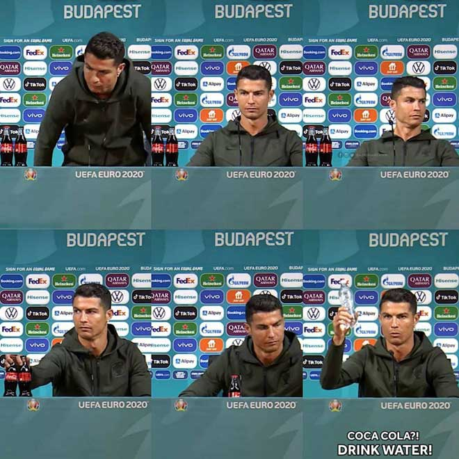 Euro 2020 press conference Portugal vs Hungary: Ronaldo takes action that makes UEFA hot, fans are extremely satisfied