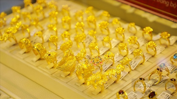 Gold price list today June 3: Accelerated to the top 1