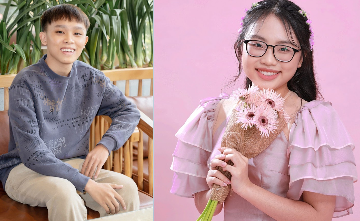 Ho Van Cuong's attitude attracts attention when compared to Phuong My Chi 1