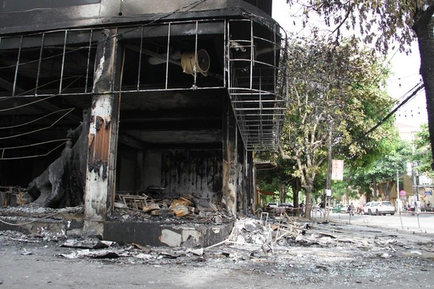 Identity of 6 victims in Nghe An tea room fire 1