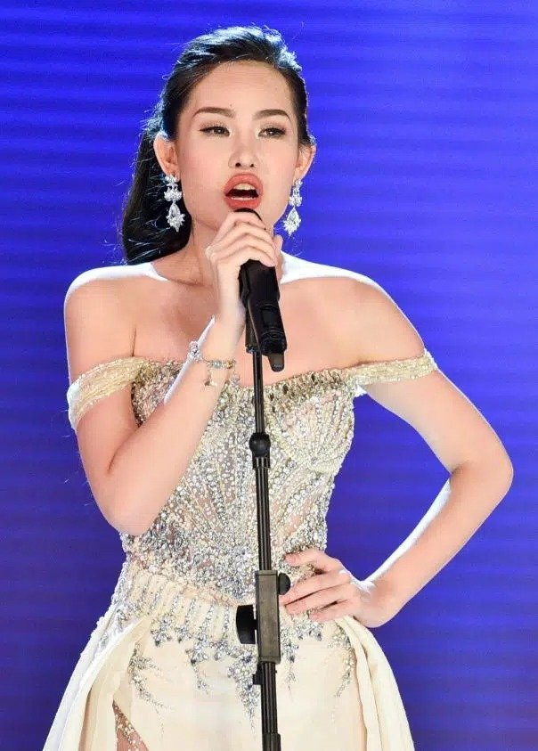 Le Au Ngan Anh was promoted to beauty after 4 years of being caught up in the market of