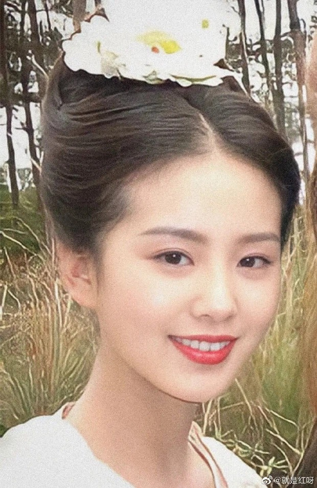 People dig up a series of photos of Luu Thi Thi 14 years ago, the beauty is no less beautiful than the present 1