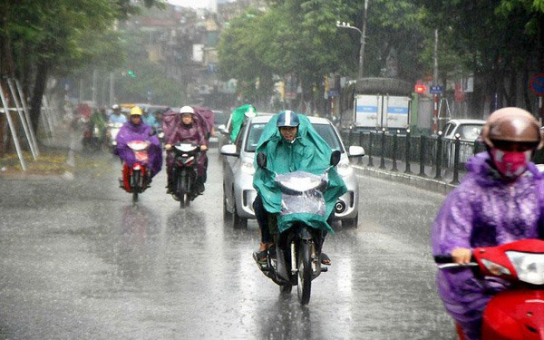 Storm No. 2 becomes a low pressure, from the North to Thanh Hoa - Quang Binh heavy rain 1