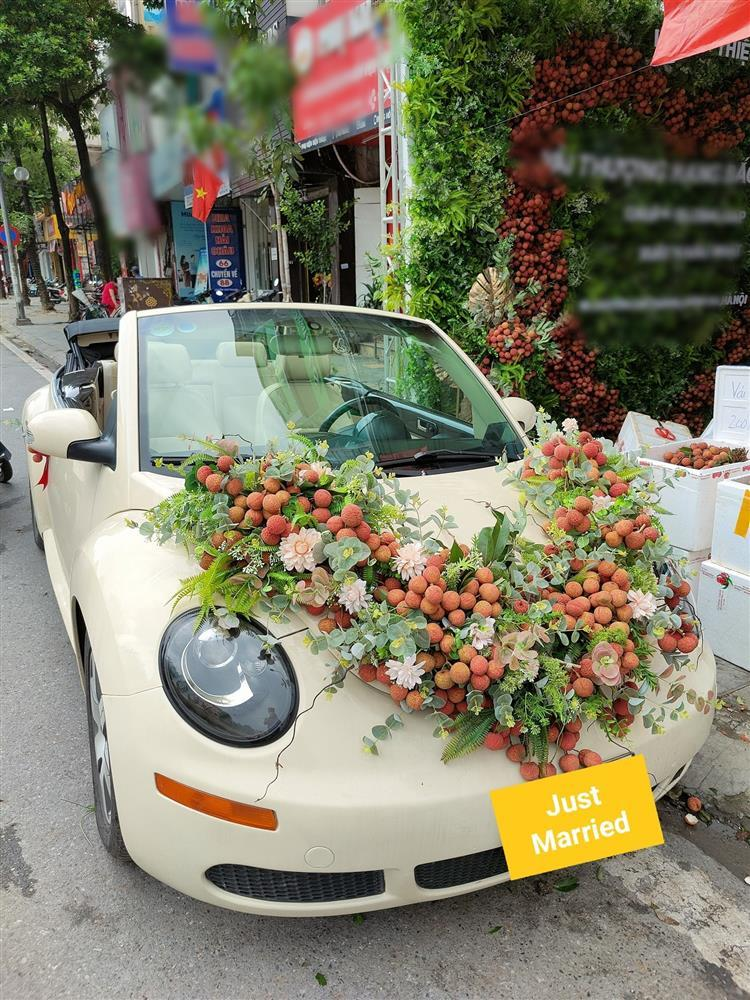 After a bouquet of lychee flowers costing more than half a million, it's the turn of the flower car to be decorated with a specialty that everyone wants to see