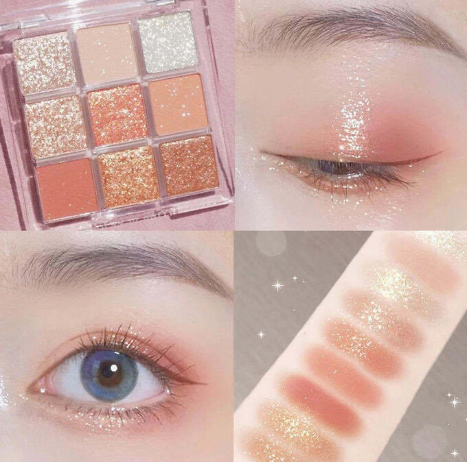 Super pretty shimmery eyeshadow is loved by the hot Tik Tok cast in China 1