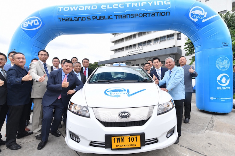 Thailand pioneers the electric vehicle revolution, leading Southeast Asia 1