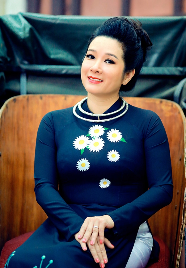 Thanh Thanh Hien first appeared in a TV series after the marriage incident 4