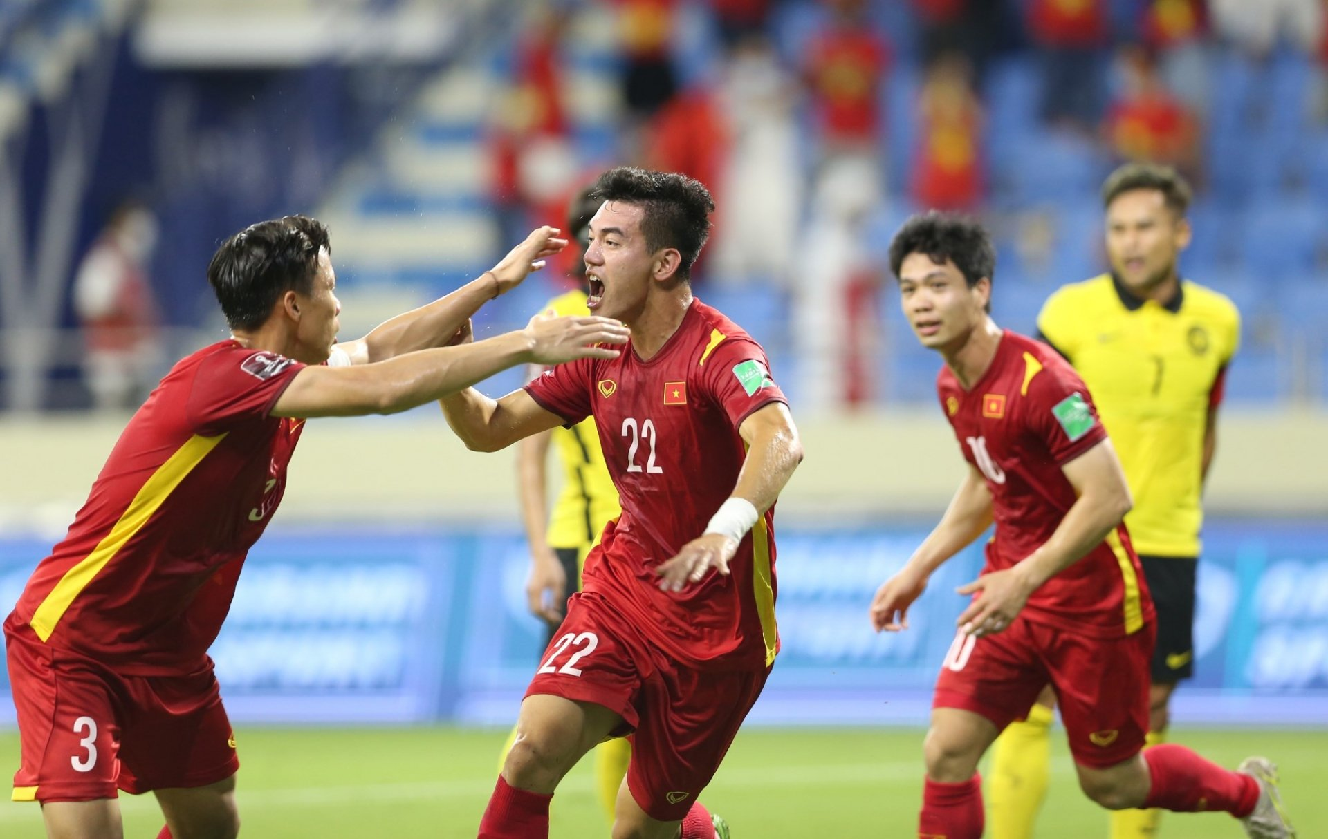 The Vietnamese team only quarantined for 7 days after returning home 1