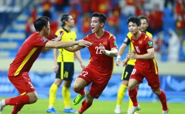 The Vietnamese team received timely encouragement after a resounding victory over Malaysia 1