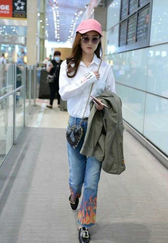 Cbiz's airport fashion colors: From bad 'mist' to ugly, words can't describe 1
