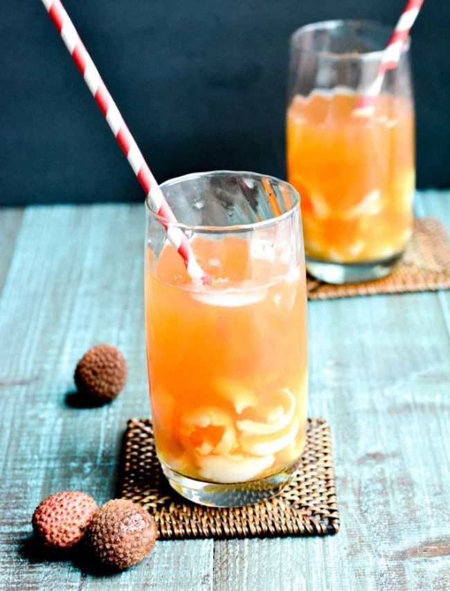 The easiest way to make lychee tea, both delicious and thirsty in summer 1