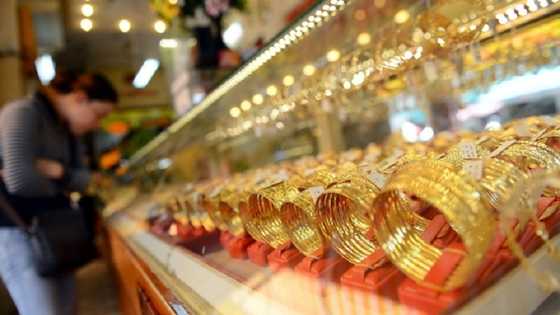 The latest gold price list today on May 28: Suddenly turned down sharply 1