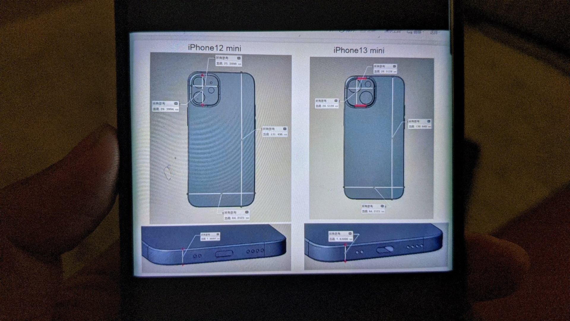 The render reveals the biggest design change on the iPhone 13 will be on the back 1 lưng
