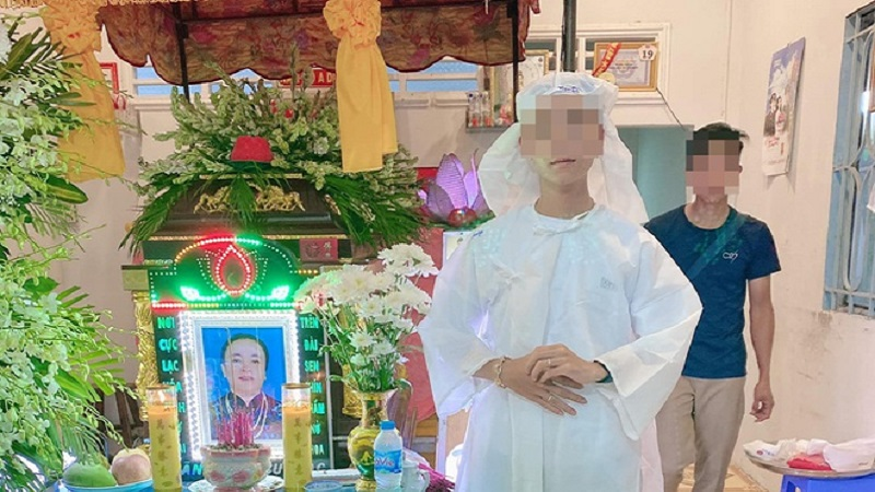 The woman in Soc Trang made her own fake funeral to avoid debt 1